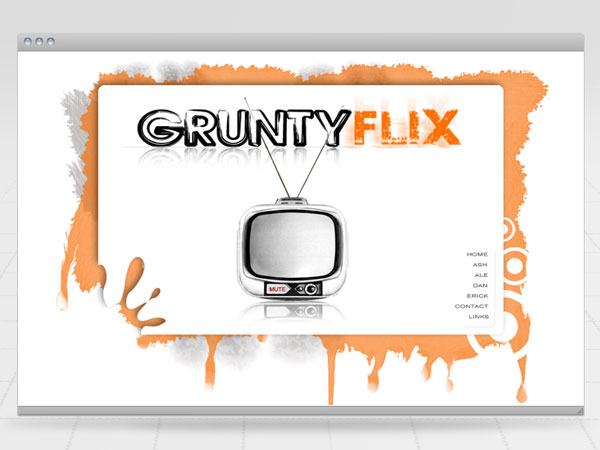 Gruntyflix Website