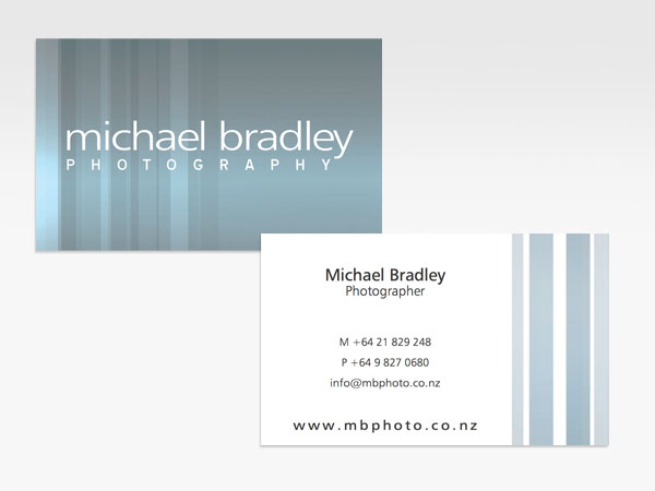 Michael Bradley Business Cards